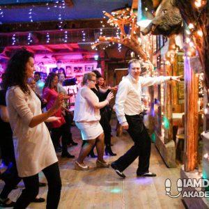 Wieczór taneczny w restauracji Siwy Dym w Warszawie